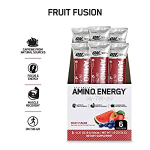 OPTIMUM NUTRITION ESSENTIAL AMINO ENERGY, Lemon Lime, Keto Friendly BCAAs, Preworkout and Essential Amino Acids with Green Tea and Green Coffee Extract, 30 Servings
