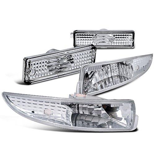 Camaro Rear Chrome Bumper (Chevy Camaro Z28 SS Chrome Lower Bumper Lights+Rear Signal Side)