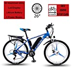 """51Zbk4E1aQL. SS150 Hyuhome Biciclette elettriche per Adulto, in Lega di magnesio Ebikes Biciclette all Terrain, 26"""" 36V 350W 13Ah Rimovibile agli ioni di Litio Montagna-Bici per la Mens"""