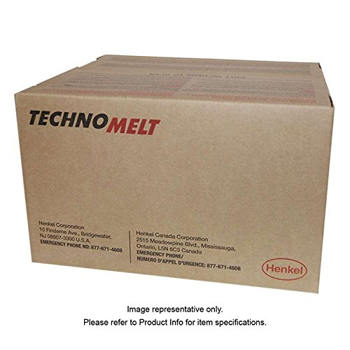 Technomelt 1942 Hot Melt Adhesive, Brown, 35lb Kit by TECHNOMELT