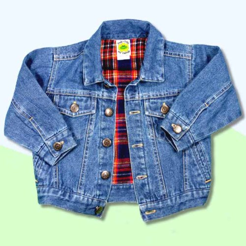 Playtimes - Lined Boutique Denim Jean Jackets (4T)