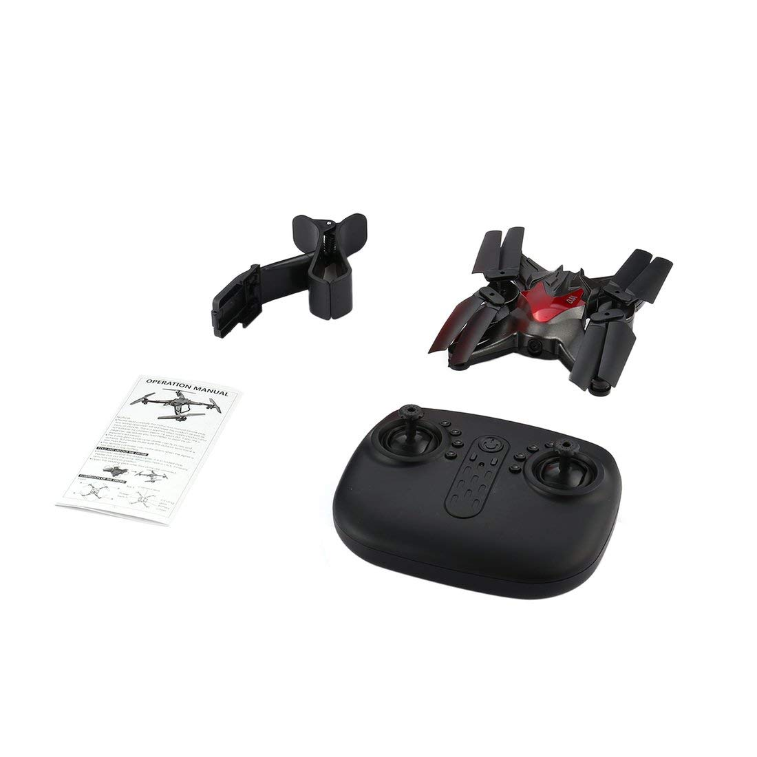 Formulaone D70WG2.4G 6-Axis Drone 0.3MP WiFi Cámara FPV RC Plegable Quadcopter Aviones con Altitude Hold Headless 3D Flips Interruptor de Velocidad
