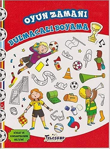 Oyun Zamani Bulmacali Boyama Collective 9786053031154 Amazon