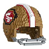 SAN FRANCISCO 49ERS 3D BRXLZ - LARGE HELMET