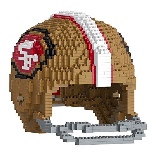 FOCO San Francisco 49ers 3D Brxlz - Large Helmet
