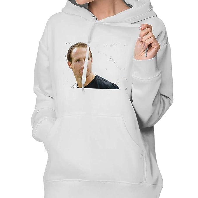quality design 73e54 f05e3 Amazon.com: Women's Drew- Brees Birthmark Fashion Hooded ...