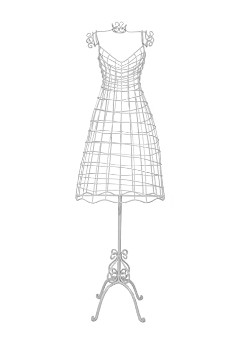 Wire Mannequin / Dressmakers Dummy - white: Amazon.co.uk: Kitchen & Home