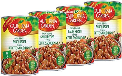 California Garden - California Garden Fava Beans Saudi Recipe 450g (4 cans)