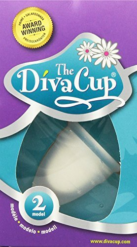 Menstrual Diva Cup (Diva Cup Model 2, 2 Count)