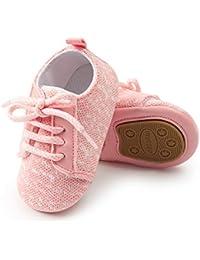 Baby Boy Girls Soft Sole Anti-Slip Infant Toddler First Walking Crib Shoes