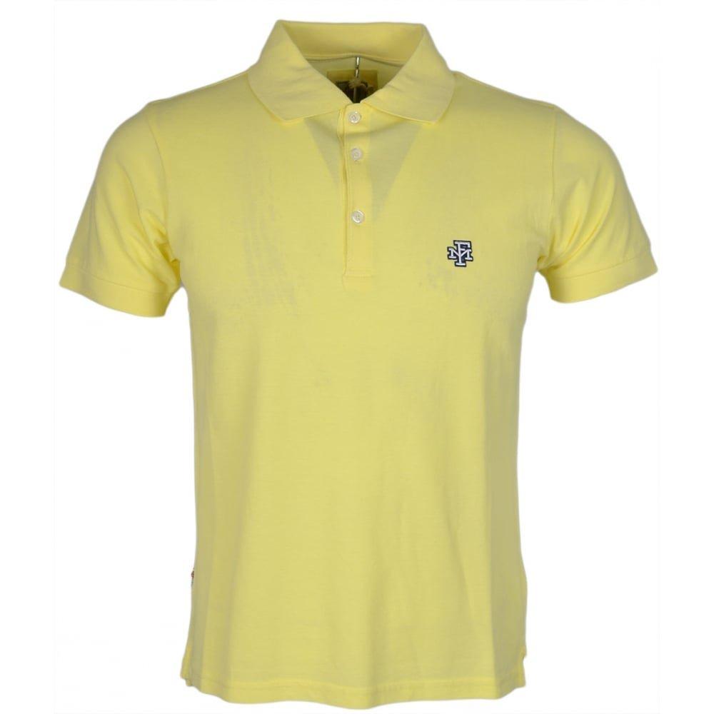 Franklin & Marshall - Polo - para Hombre Amarillo Sun Yellow Large ...