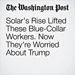 Solar's Rise Lifted These Blue-Collar Workers. Now They're Worried About Trump | Danielle Paquette