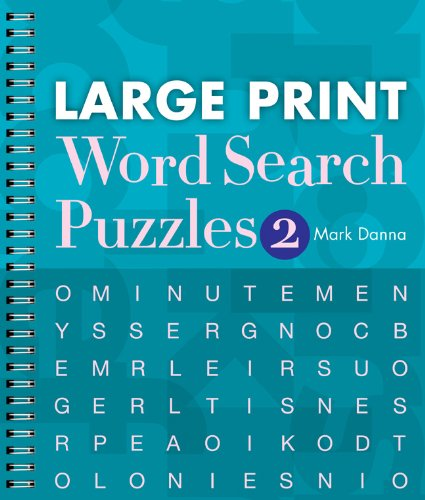 Large Print Word Search Puzzles 2 -