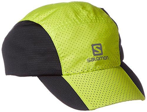 Salomon Xt Compact Gorra, Hombre negro / verde