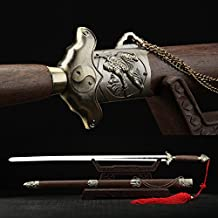 Full Hand Forge 40 Inches Stainless Steel Chinese Swords Tai Chi Practice Sword