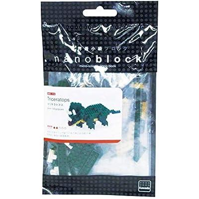 Nanoblock Triceratops Building Kit: Toys & Games