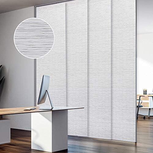 GoDear Design Deluxe Adjustable Sliding Panel Track Blind 45.8″