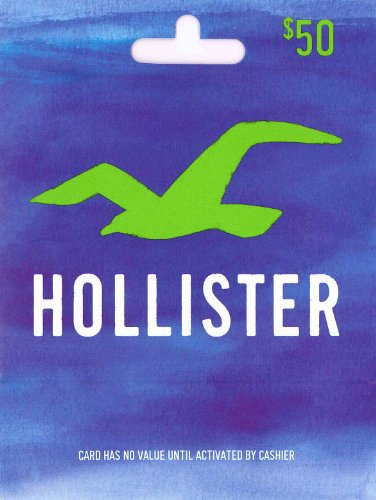 Hollister Gift Card $50 from Hollister