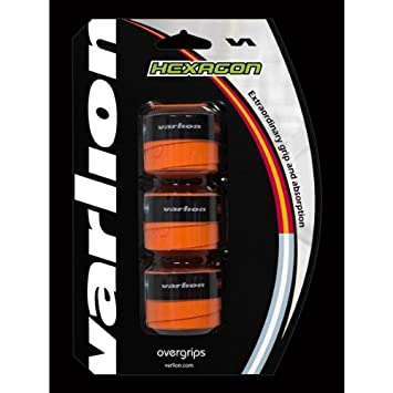 Varlion Overgrip Hexagon - Overgrip de pádel, Unisex, Naranja: Amazon.es: Deportes y aire libre