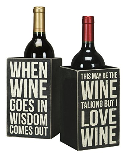 Primitives-By-Kathy-Single-Wine-Bottle-Holder-Whimsical-Wine-Box-Sign