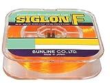 Sunline 63000710 Siglon F Fluorescent Orange 15 lb Fishing Line, Fluorescent Orange, 330 yd