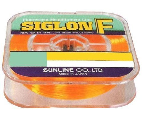 Sunline 63000710 Siglon 15 lb Fishing Line, Fluorescent Orange, 330 yd 63000690