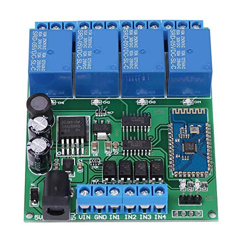 4 Channel Bluetooth Relay Module Phone Wireless Remote Control Switch