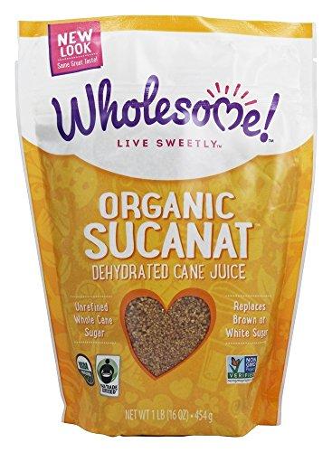 Wholesome! - Organic Sucanat - 1 lb.