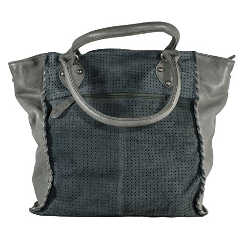 LEI è COZY The Perfect Cut, Borsa a mano donna grigio black