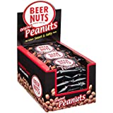 BEER NUTS Original Peanuts   24 Pack Box - 1.25 oz. Individual Bags - Sweet and Salty