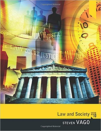 Amazon law and society 9780205820382 steven vago books law and society 10th edition fandeluxe Gallery