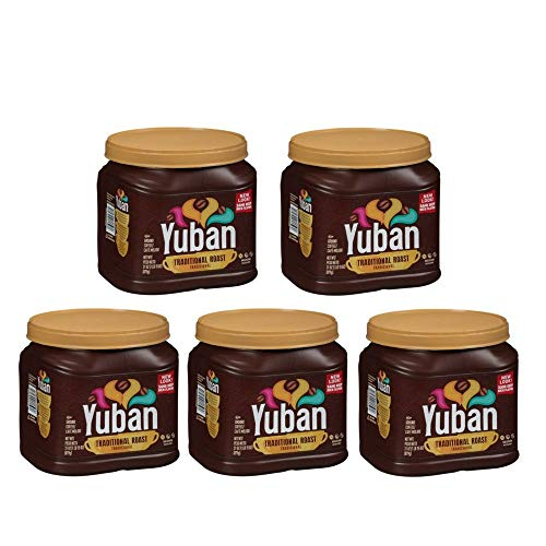 Yuban Ground Coffee Traditional Medium Roast 31 Ounce Canister (5 PACK)