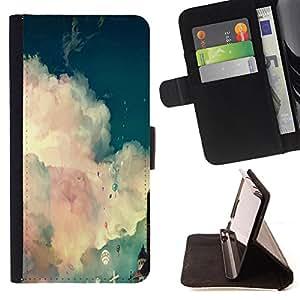 Jordan Colourful Shop - FOR LG G2 D800 - is not a time of life - Leather Case Absorci¨®n cubierta de la caja de alto impacto