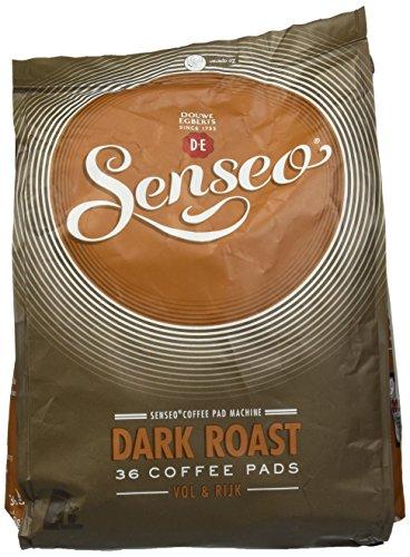 Douwe Egberts, Senseo, 36 Coffee Pods/Pads, Dark / Strong Roast (Senseo Dark Roast)