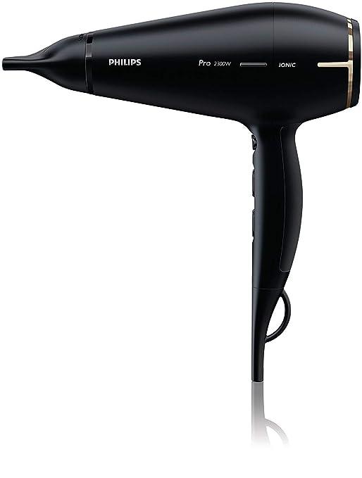Philips Pro HPS920/00 - Secador profesional, 2300 W, 6 ajustes de potencia, 2 boquillas concentradoras, color negro: Amazon.es: Salud y cuidado personal
