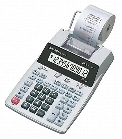 Mesa Calculadora (Impresora Sharp el de 1750piii: Amazon.es ...