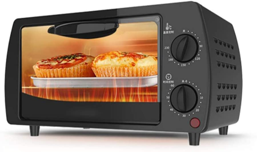 MIAOLEIE Mini Baking-Grill Chicken Multifunctional Electric Oven Temperature-Control Stainless-Steel Stove-Machine Bread-Toaster Pizza-Cake,220V British Standard