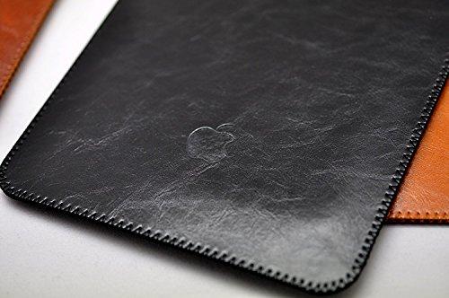 2015 New Apple Macbook Retina 12 Inch Light & Slim Pouch Protect Case Sleeve Bag (Black)