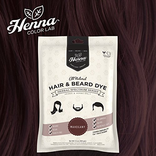 Amazon Com Henna Color Lab Henna Hair Dye Mahogany Beauty
