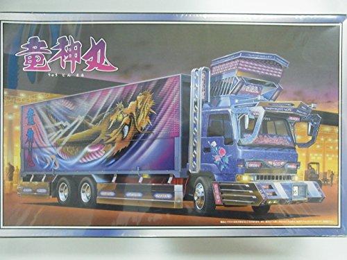青島文化教材社 1/32 大型デコトラ No.66 竜神丸 りゅうじんまる ウイングの商品画像
