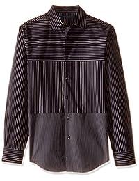 4bf33535b5c17 Perry Ellis Camisa de Manga Larga para Hombre