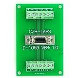 Electronics-Salon 20-pin 0.05'' Mini D Ribbon/MDR Female Breakout Board, SCSI, Terminal Module.