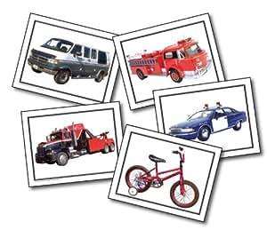 Carson Dellosa Key Education Transportation Learning Cards (845010)