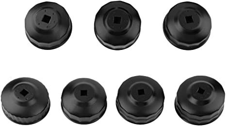 15Pcs Cup Type Oil Filter Cap Wrench Socket Removal Tool Set W//case 3//8 Drive H