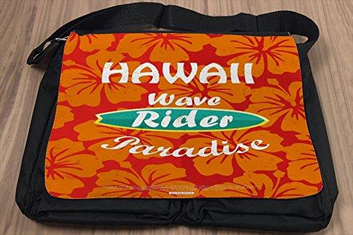 Umhänge Schulter Tasche Fun Hawaii Surf bedruckt