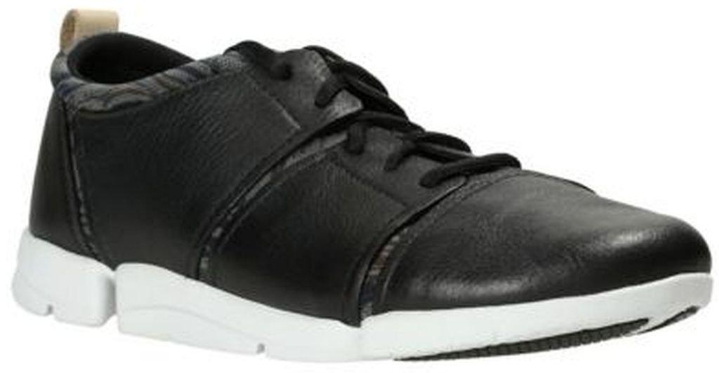 Clarks Womens Tri Fit Sneaker Black Combi Size 7.5
