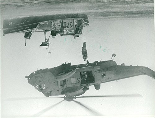 Vintage photo of air sea rescue display sarah hunt -