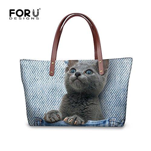 Stylish Dfgcc2296al Bages Tote Handbags Women Casual FancyPrint d0YwxW