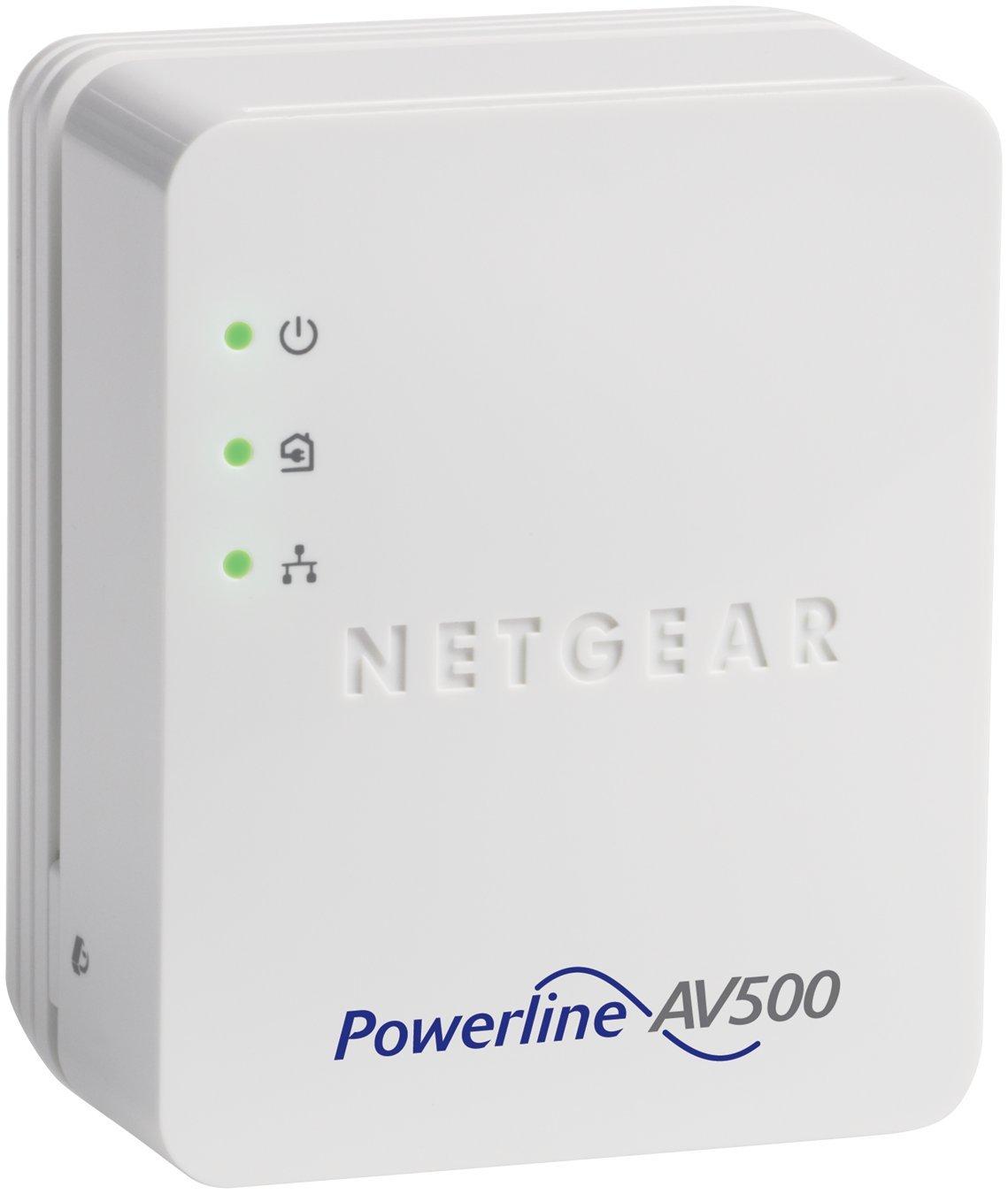 NETGEAR Powerline 500 1-Port Starter Kit (XAVB5201)