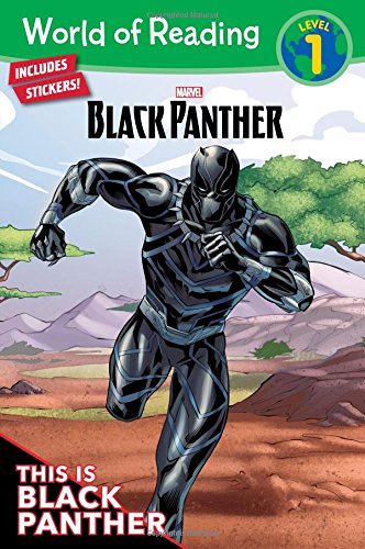 World of Reading: Black Panther: This is Black Panther (Level 1) -